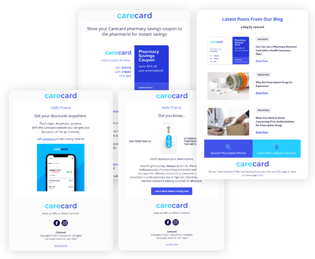 Carecard Email